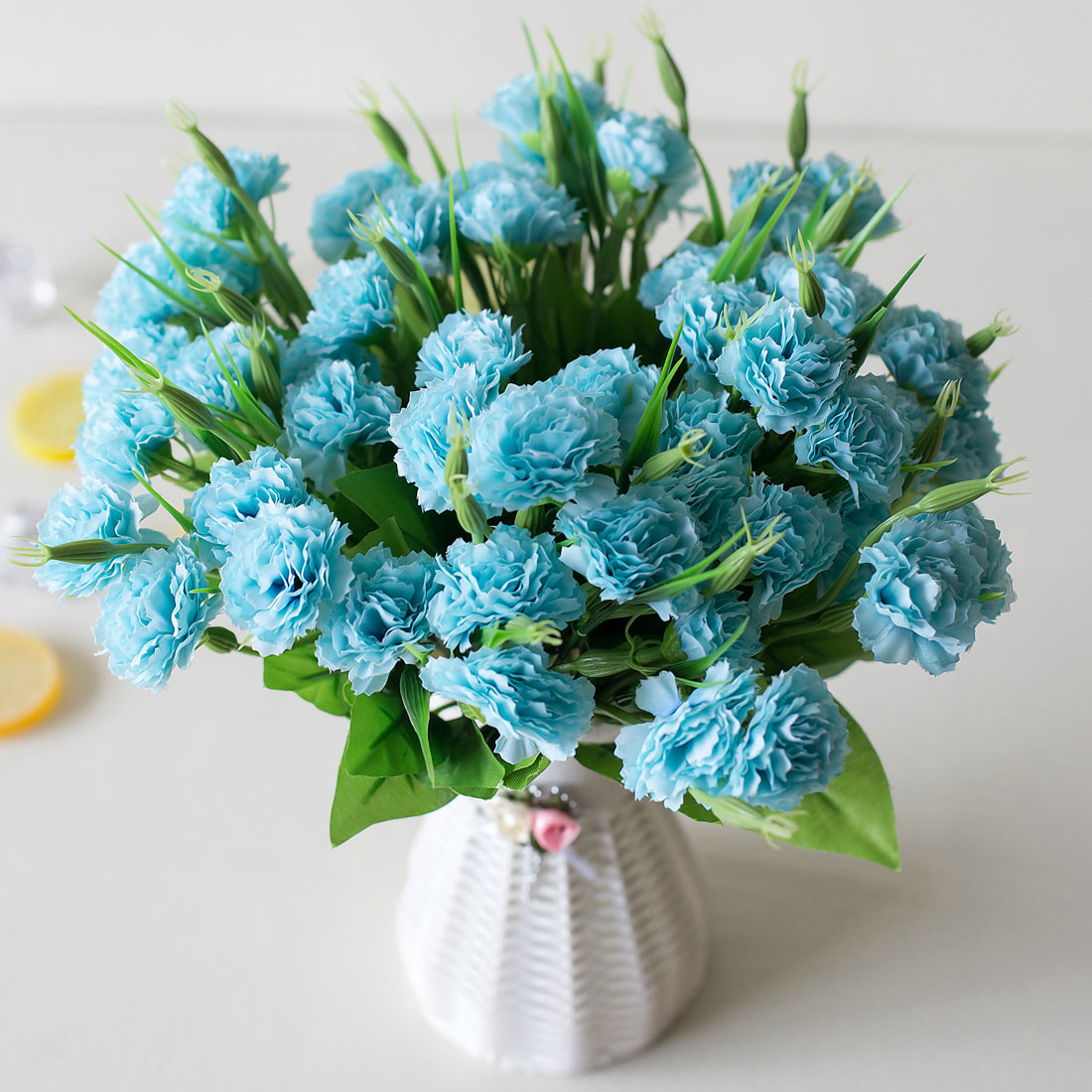 Mothers Day Gift 10 Heads 1 Bouquet Artificial Flowers Cheap