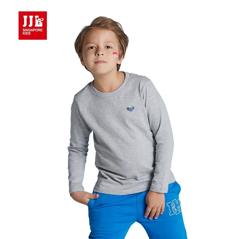 Boys T Shirt Long Sleeve 100 Cotton Kids Tee Shirt Boys