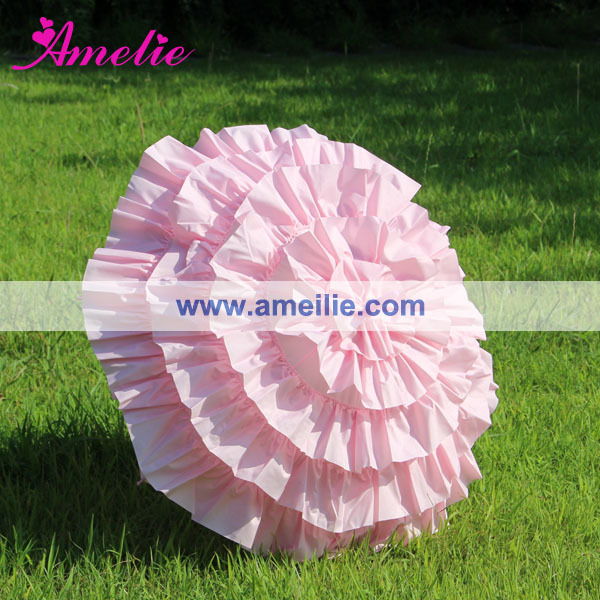 1ea3c37472b38 US $93.33 15% OFF|Free Shipping Sun Hot Sale Cancan Kids Size Parasol  Frilly Parasols Cancan Wedding Bridal Parasol Umbrella-in Bridal Umbrellas  from ...