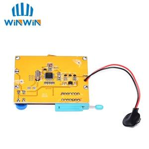 Image 2 - B03 10pcs LCR T4 12846 LCD M328 Digital Transistor Tester Meter Backlight Diode Triode Capacitance ESR Meter MOS/PNP/NPN L/C/R