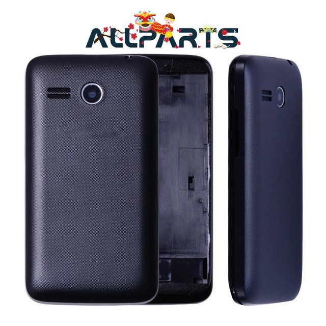 ALLPARTS New TPU Rear Housing Door For Lenovo A316i Back Battery Cover Case with Camera Lens A316 Digitzer Assembly