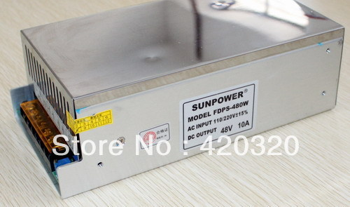 ФОТО switching power supply board 110VAC/220VAC 50HZ input 48V 7.5A output FOR TAS5630