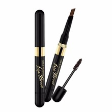 1PCS Beauty Makeup Double-end -lasting Eyebrow Enhancer 4 Colors Brown Eye Brow Pencil With Brush Makeup xgrj