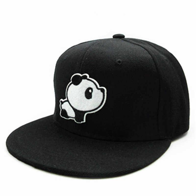 2019 Panda Tier stickerei baumwolle Baseball Cap hip-hop cap Einstellbare Hysterese Hüte für männer und frauen 154