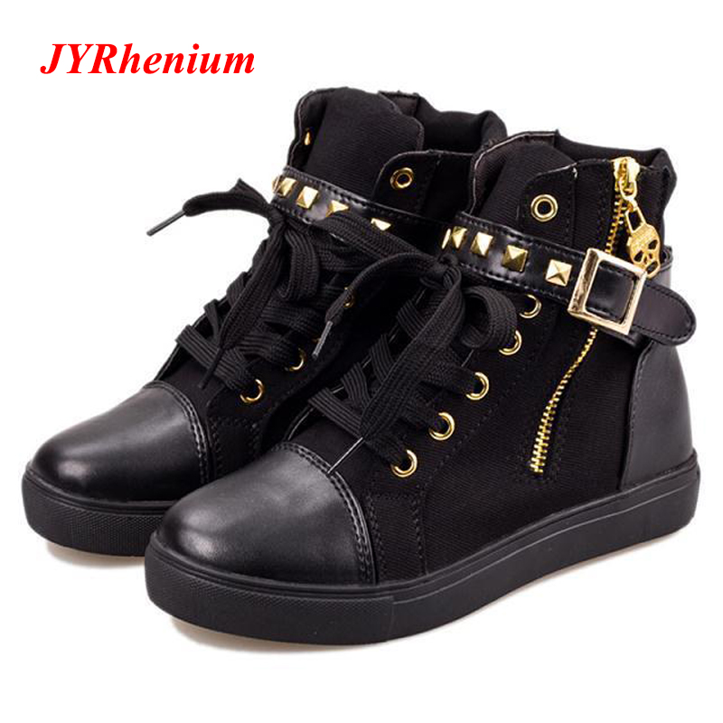 2018 New Fashion Motocycle booties Women Boots Botas Female Womens Ankle Boots Flat Heel Martin Boots Autumn Shoes Black Boots xiuningyan flat black ankle boots for women kid suede short boots women female fashion low heel hademade ladies booties 2018 new