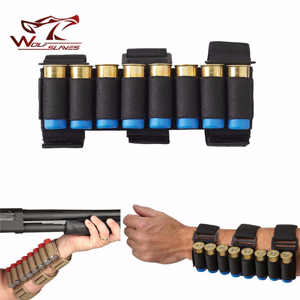 2017 New Arrival Tactical 8 Round Gun Shell Holder Ammo Bag 1000D Nylon Light Weight Arm ...