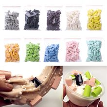 New 70pcs Sponge Beads Supplies DIY Slime Accessories For Stuff Foam slime container for kids fluffy
