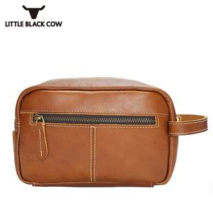 e7061ba44f3 Top Small Hand Bag Women Retro Genuine Leather Travel Men