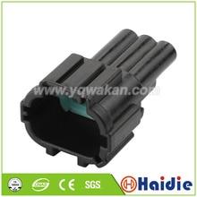 5 комплектов 3pin Авто Пластиковый корпус проводной датчик Водонепроницаемый кабельный разъем 6188-0555