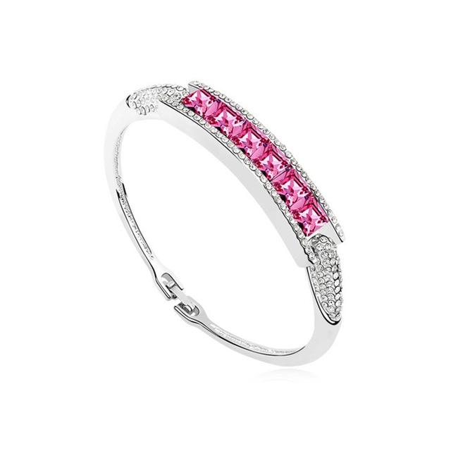 2015 Origin Crystals from Swarovski Bracelets Bangles for women Women Wedding Joyas