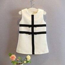 stitching White black dresses