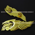 New Arrived Hells Angels Motorcycle Badges pin for Clothing jacket Motor Skull badge pin Vest metal badge pin accessories