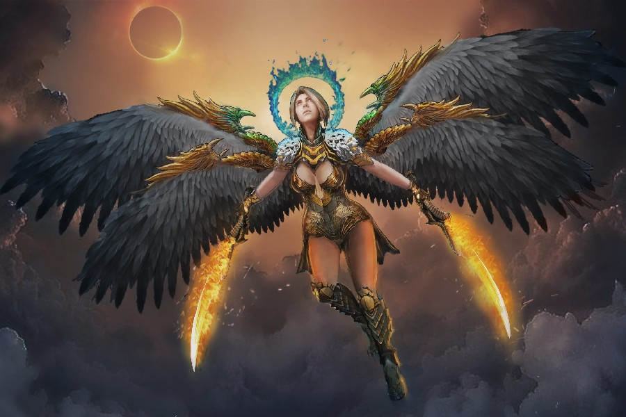 Popular Warrior Angel Art Buy Cheap Warrior Angel Art Lots