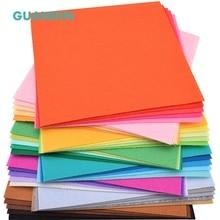 GuanDin, 40 шт. в 1 упак./Mix одноцветное Цвет/полиэстер нетканых войлока/Толщина 1 мм/для DIY швейных игрушки, ремесла куклы/20 см x 20 см