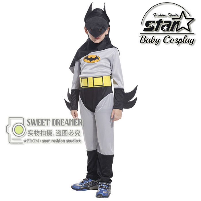 New Arrival Kids Deluxe Muscle Dark Knight Batman Child Halloween Party Fancy Suit Set Boys Superhero Carnival Costume tetris party deluxe