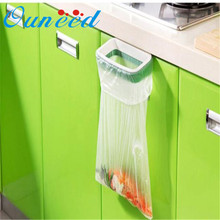 Ouneed lovely pet Hanging Kitchen Cupboard Cabinet Tailgate Stand Storage Garbage Bags Rack 922