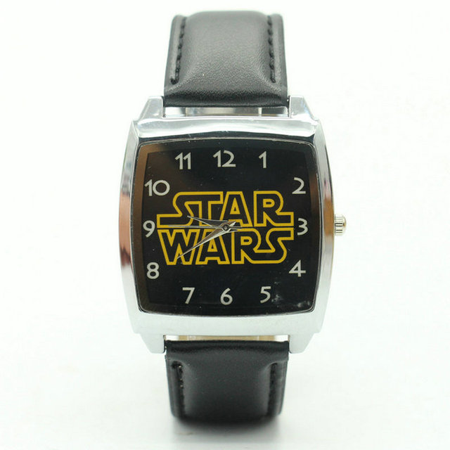 Free Shipping Hot Sale star wars BOYS Cartoon Watch Lovely Girl Children Watches