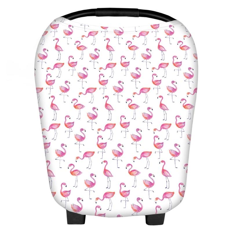 2018 Multi-Use Stretchy Newborn Print Flower Infant Nursing Cover Floral Baby Car Seat Cart Canopy JUL13_18