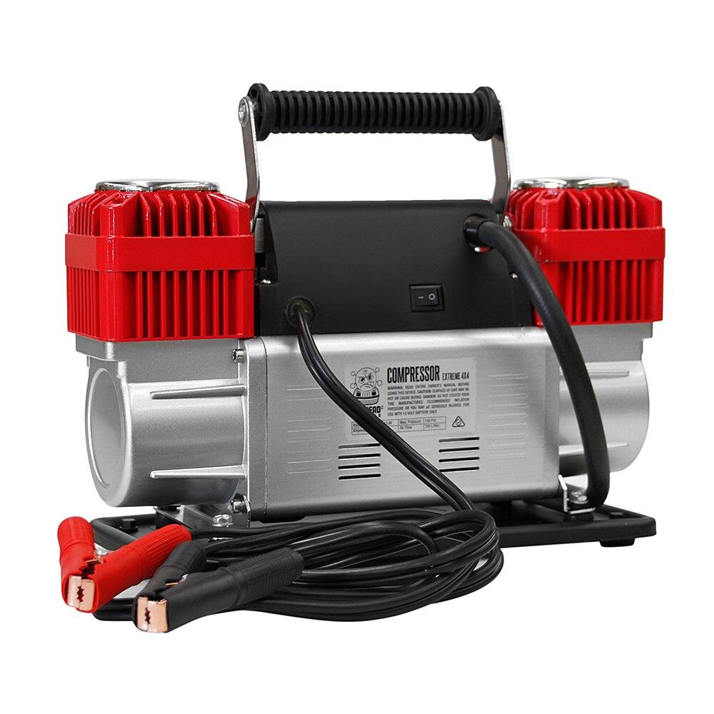 12 v 150PSI Voiture Compresseur D'air 300L/Min Pression Portable Pompe À Pneu Déflateur 4WD