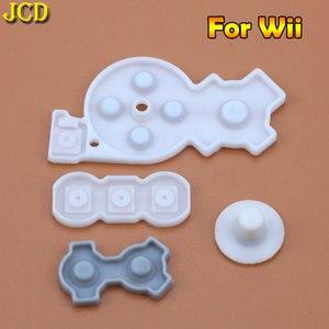 Image 4 - JCD 1 セット Nintend Wii/WIIU パッド/WII プロスーパーファミコン SFC/ファミコン PC コンソール導電性ゴムシリコンパッドボタン