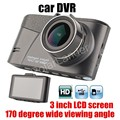 Car Camera DVR Full HD Digital Video Recorder Auto Dash Cam 170 degree wide viewing angle 3 inch LCD best price