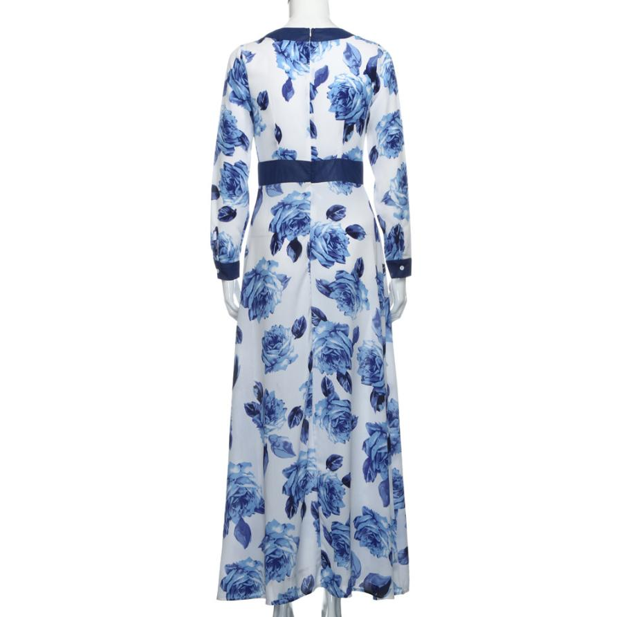 Retroprint Blousejurk Dames