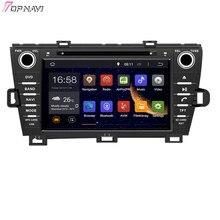 Topnavi 8′ octa Core 2 GB RAM Android 6.0 car Radios estéreo GPS para Toyota Prius izquierda de conducción 2009- reproductor de DVD Audio