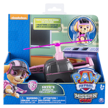 Original Nickelodeon Paw Patrol Skye's Mission Helicopter Spin Master Mission Paw Vehicle Toy Anime Action Figure Toys kids Gift spin master nickelodeon paw patrol машина трансформер маршал со звуком 16704