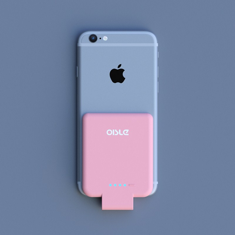 OISLE 2800mAh Battery Charger Case For IPhone 6 6s 7 8 External Power Bank For IPhone 5 S SE Mini Portable Backup Battery