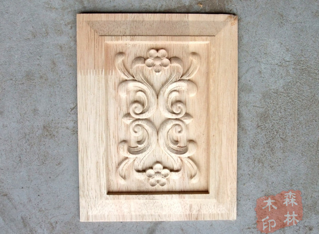 Wood antique furniture dongyang wood carving wood fashion applique
