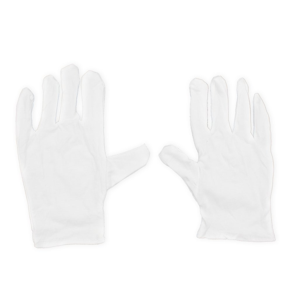 SEWS Musical Instrument White Performance Gloves For Saxophone Trumpet Flute Clarinet Marching Bands