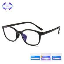 VCKA, детский анти-синий светильник, оправа для очков, ультра-светильник TR90, детские очки для очков, компьютерные гибкие мягкие защитные очки