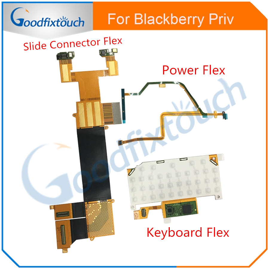 US $15 19 7% OFF|For Blackberry Priv Power / Keyboard / Slide Connect Flex  Cable Replacement Parts For Blackberry Priv Slide Connector Flex-in Mobile