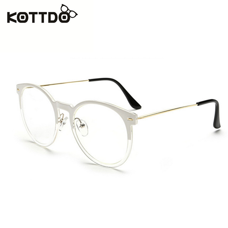 KOTTDO Fashion Eyeglasses Frame With Clean Lens Brand Designer ...