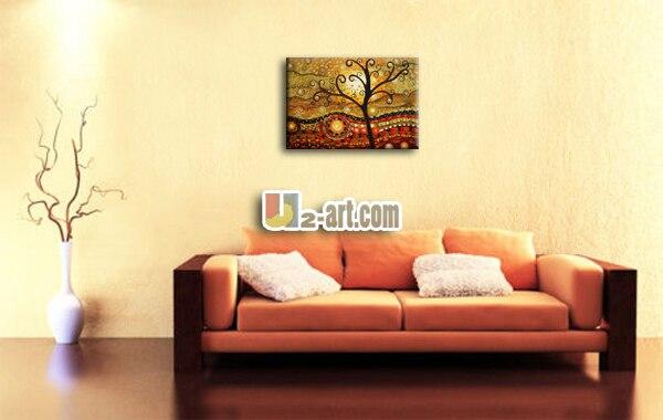 aliexpress.com : acquista alberi astratti dipinti per la parete ... - Dipinti Per Camera Da Letto