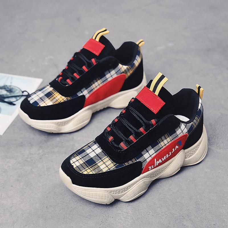 2008 Avec Polaire Printemps De Sneakers Et Sports Chaud Chaussures Femmes up Accrue Nouveau Automne Noir Plate Loisirs forme gris Style Dentelle wwzd8qr