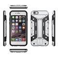 Novo caso defensor híbrido armadura resistente magro caso capa para apple iphone 5 5S 6 6 s plus telefone back covers para iphone 7 plus