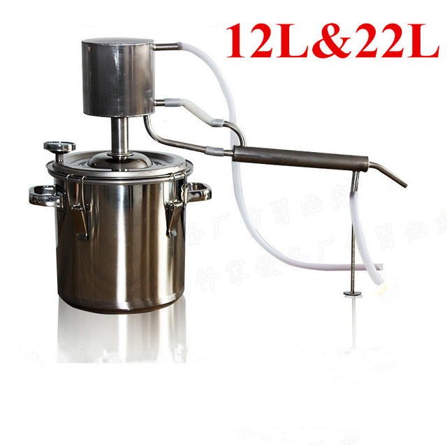 12L&22L Homemade Distilled Liquor Wine Brewing Machine Winery Hydrolat Special Distillation Brewery Equipment-in Bar Sets from Home & Garden on ...