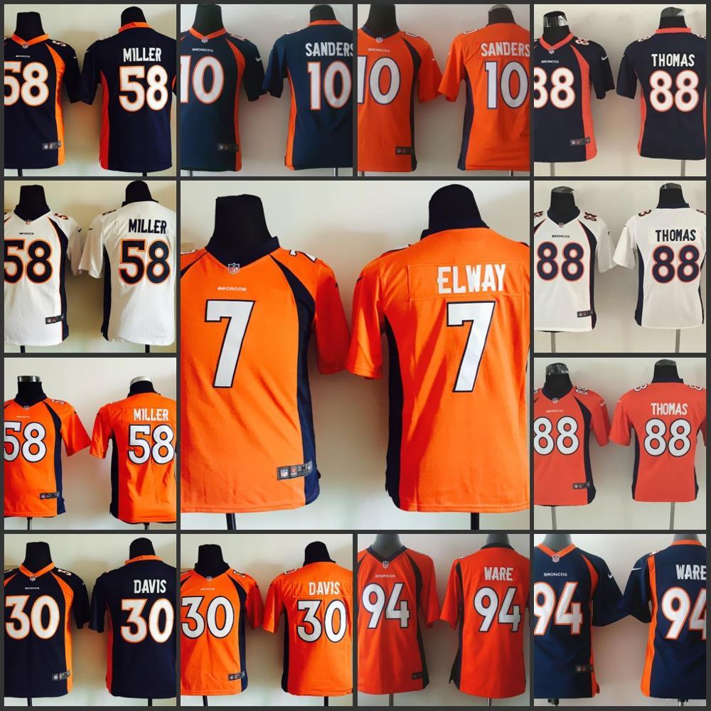 Popular Thomas Broncos Jersey-Buy Cheap Thomas Broncos Jersey lots ...