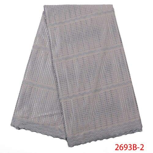 Handcut pas cher coton dentelle tissu luxe usine prix luxe suisse Voile dentelle Swizerland QF2693B-2