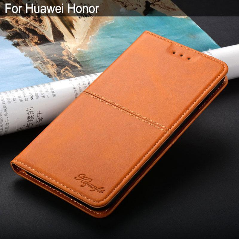 Case For Huawei Honor 6 7 8 9 10 4x 4a 4c 5c 5x 6c 6x 6a 7c 7a 7s 7x 8x 8c 9n V9 Lite Plus Pro Europe Play Luxury Leather Case