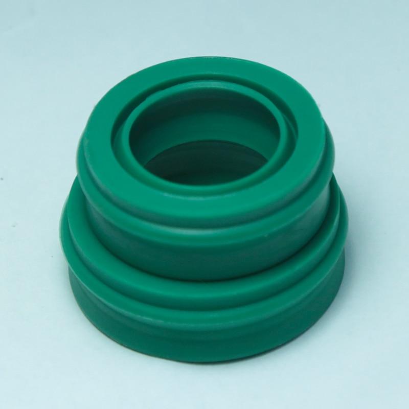 3pcs EU 16*26*10.7 16x26x10.7 Polyurethane Dustproof Green Pneumatic Piston Rotary Shaft Rod Green O Ring Gasket Oil Seal цена