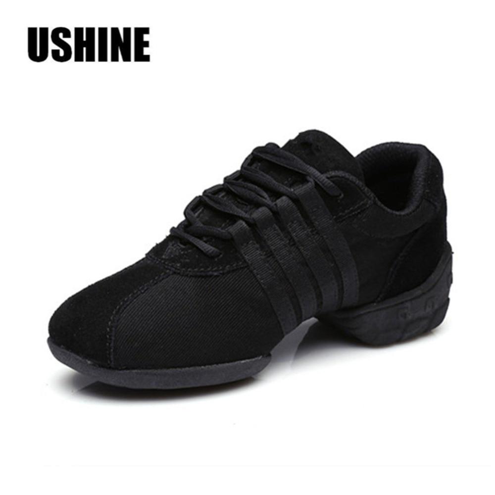 Free Shipping Good Quality Hot Sale Breathable Black Mesh Dance Sneakers Woman Jazz  Ballroom shoes Zapatilla De Deporte