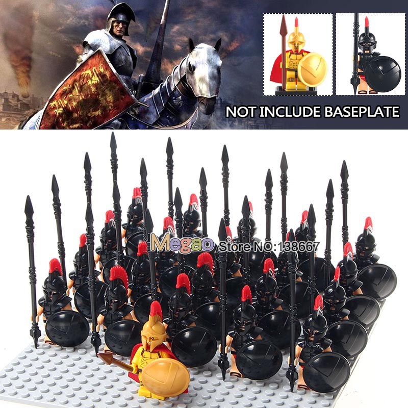 Flavor Dedicated 21pcs/lot Legoings Medieval Knights Roman Soliders Crusader Rome Troops Army Warriors Building Blocks Gifts For Children Toys Fragrant In
