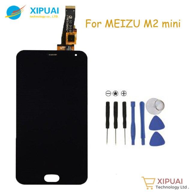 XIPUAI Оригинал Для Meizu M2 mini ЖК-Дисплей для meizu meilan 2 с Сенсорным Экраном Дигитайзер Ассамблеи Замена