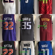 3cf837caf Free shipping A+++ quality Mens Adult 2018 Draft  22 DeAndre Ayton 2 Collin  Sexton 77 Luka Doncic 35 Marvin Bagley III Jersey
