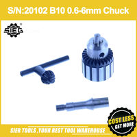 Free Shipping!/S/N:20102 B10 0.6 6mm Chuck/SIEG N1 Drill collet