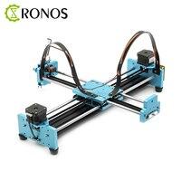 A3 Pro DIY All Metal Drawbot Pen Drawing Machine Lettering Robot Corexy XY plotter CNC Draw Robot Kit Writing Robot Toys