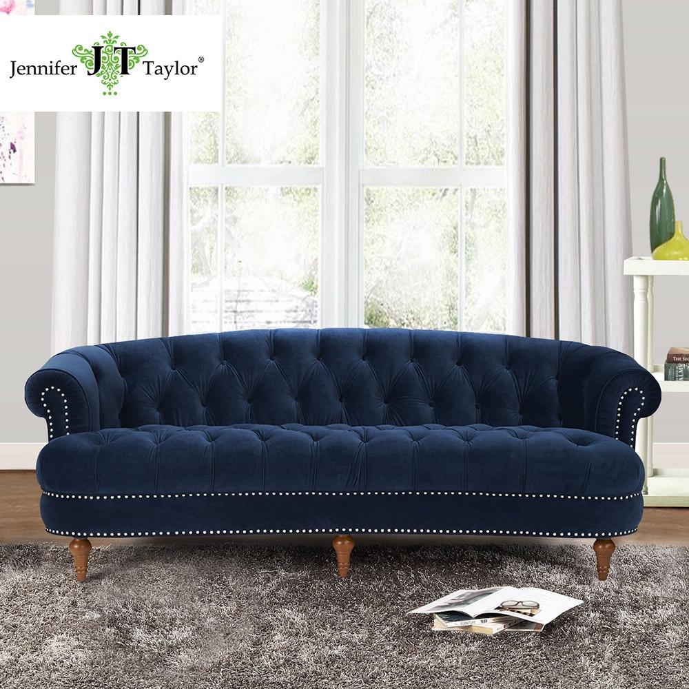Jennifer Taylor, La Rosa Estate Blue Sofa,85W x 40D x 32H jennifer bassett william shakespeare