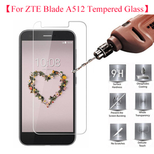 2PCS ZTE Blade Z10 Tempered Glass Screen Protector Explosion-proof 2.5D 9H Slim Clear Protective Guards For ZTE Blade A512 Phone